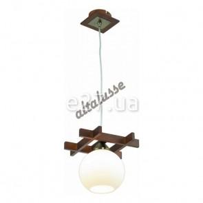 Altalusse INL-3089P-01 Antique Brass & Walnut