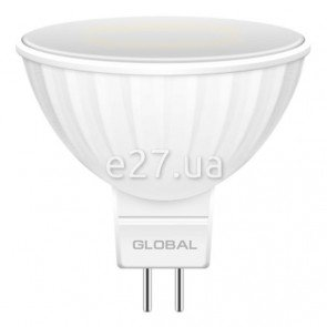 Global 1-GBL-113 MR16 5W 3000K 220V GU5.3