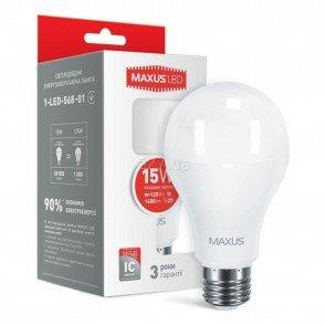 Maxus 1-LED-568-01 A70 15W 4100K 220V E27