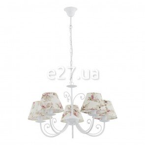 TK Lighting 374 Rosa White