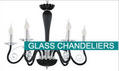 Eglo Glass Chandeliers