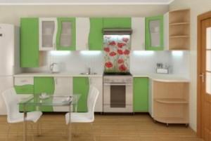 Интерьер кухни: правила сочетания цветов